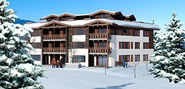 3D visual visualisatie exterieur woning vakantiehuis bungalow render