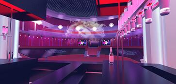 3D visual visualisatie event evenement opbouw opzet impressie render