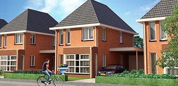3D visual visualisatie exterieur woning woningbouw render